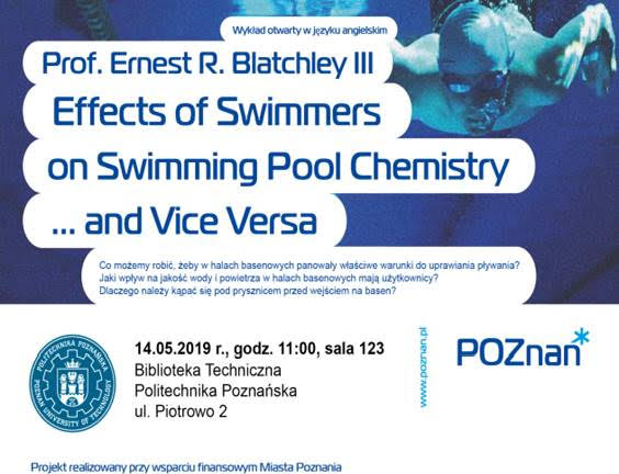 Effects of Swimmers on Swimming Pool Chemistry ... and Vice Versa